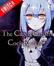 Caged Garden Cock Robin