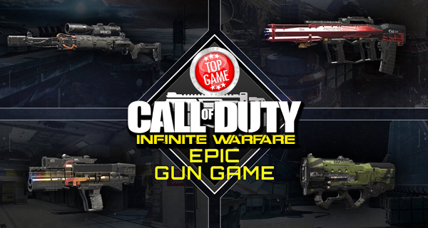 Call Of Duty Infinite Warfare Epic Gun Game Cover