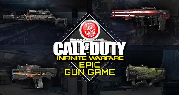 Call Of Duty Infinite Warfare Epic Gun Game Cover