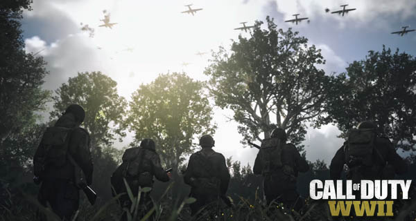 Call Of Duty WWII Trailer Cover