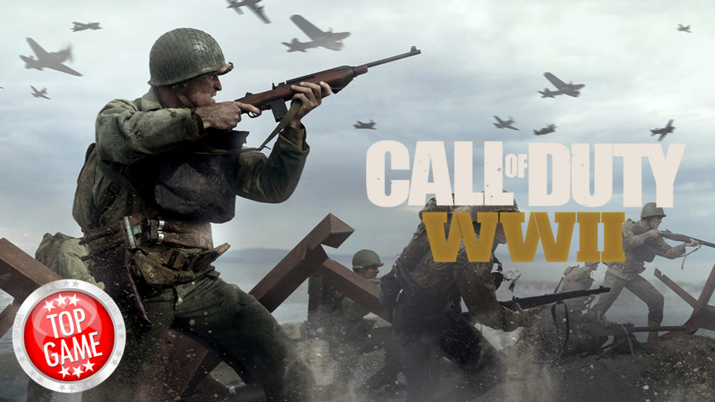Call of Duty WW2 Console Update Cover