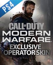 Call of Duty Modern Warfare Exclusive Operator Skin