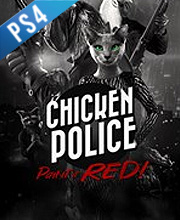 Chicken Police Paint it RED