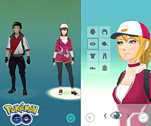 Choose your character Pokémon Go