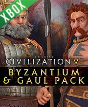 Civilization 6 Byzantium and Gaul Pack