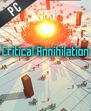 Critical Annihilation