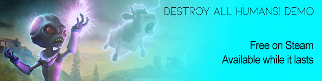 Destroy All Humans! Demo on Steam