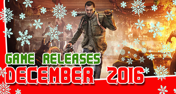2016 December Game Releases Cover