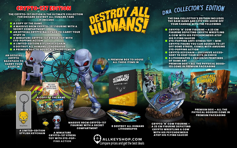 Buy Destroy All Humans Cd Key Compare Prices