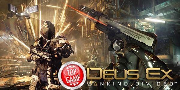 Deus Ex Mankind Divided Pre-Order Bonus Cover