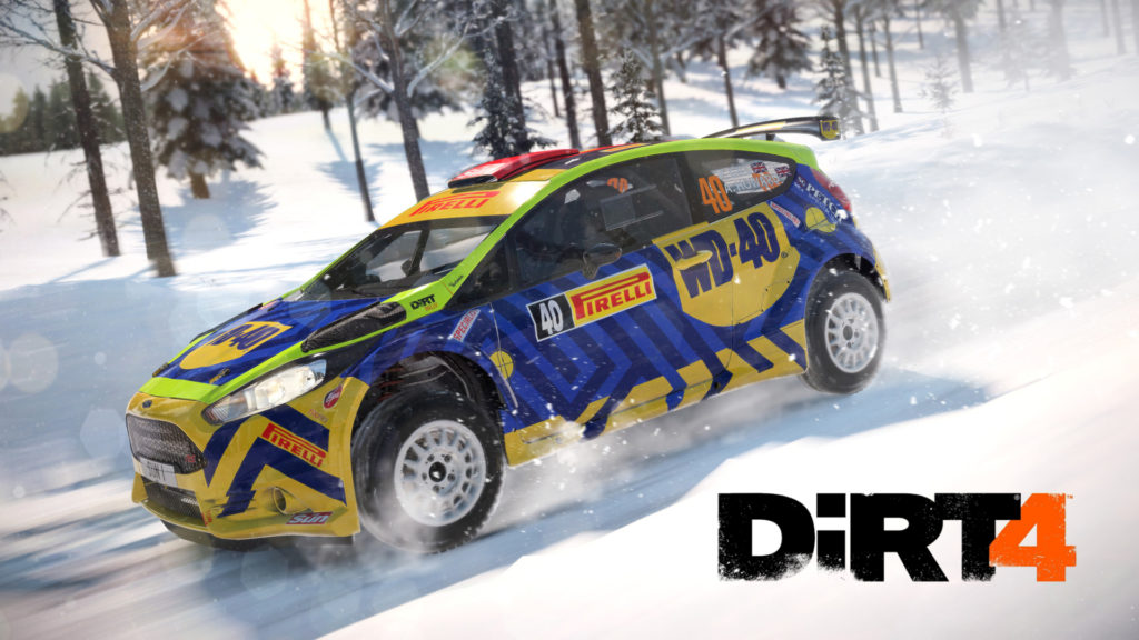 DiRT 4 Gameplay Trailer Cover