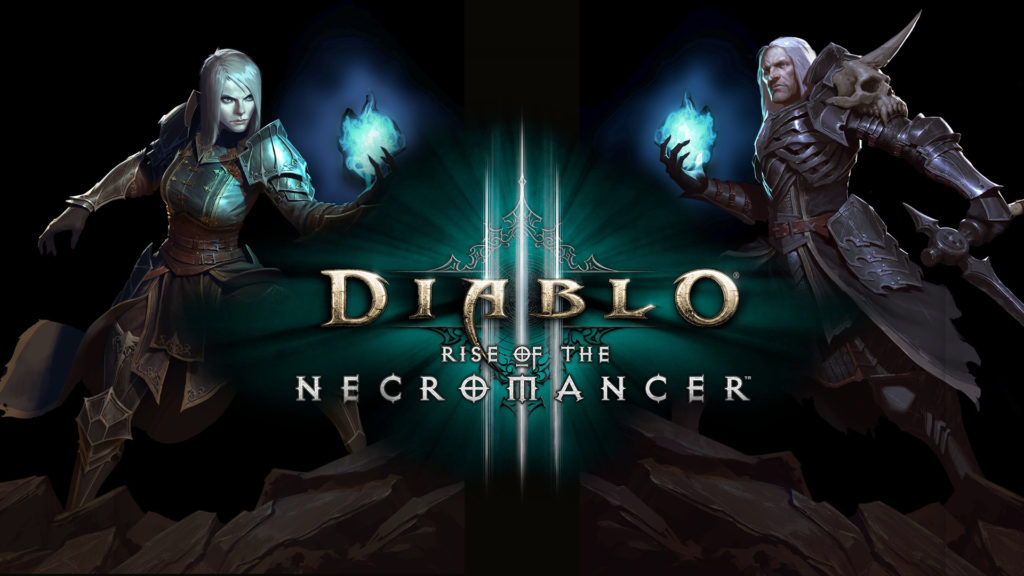 Diablo 3 Rise of the Necromancer Cover