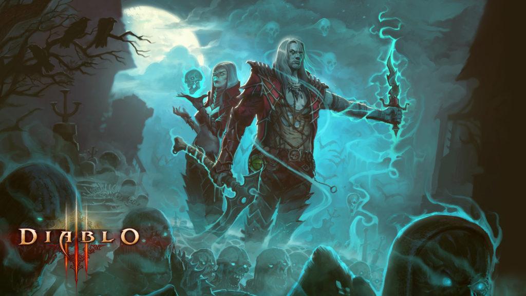 Diablo 3 Rise of the Necromancer Cover