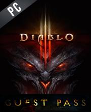 Diablo 3 Guest Pass