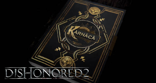 Dishonored 2 ' Book of Karnaca' Cover