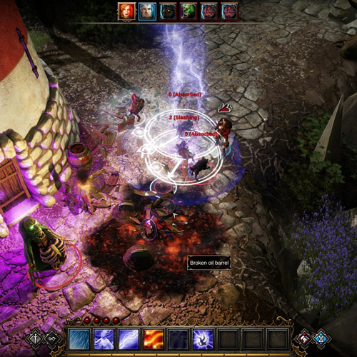 Divinity Original Sin Fight Gameplay