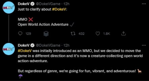 Is DokeV an MMO?