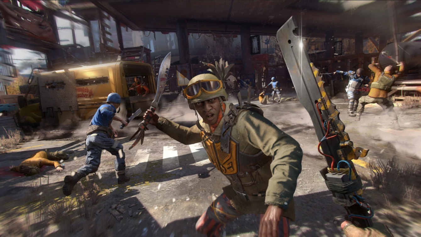 Dying Light Stay Human Gameplay