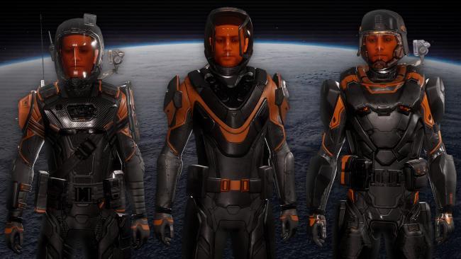Elite Dangerous Pioneer Suit Skin