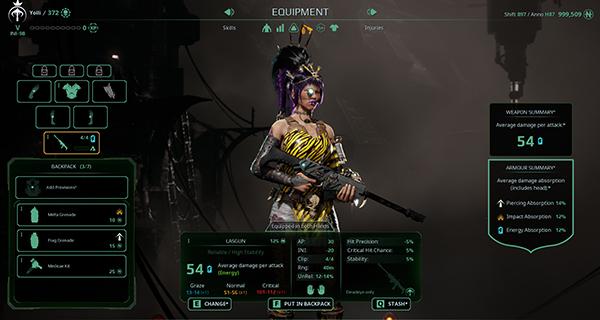 Necromunda: Underhive Wars Equipment