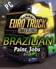 Euro Truck Simulator 2 Brazilian Paint Jobs Pack
