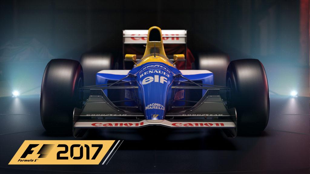 F1 2017 Trailer Cover