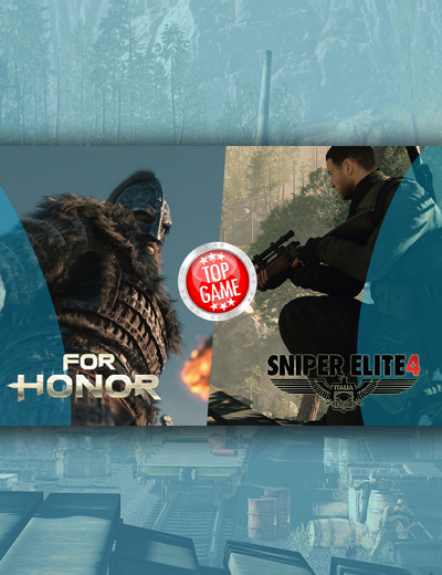 For Honor, Sniper Elite 4 Grab Top 2 Spots on UK Sales Charts!