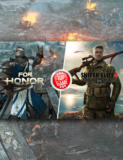 For Honor, Sniper Elite 4 Released Today!