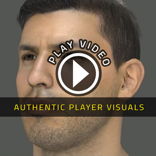 FIFA 15 PS4 Authentic Player Visuals