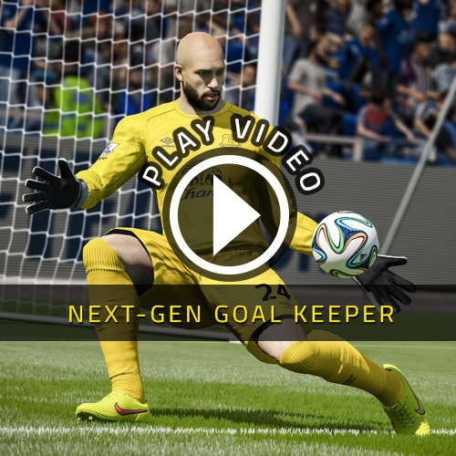 FIFA 15 PS4 NextGen Goalkeeper