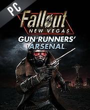 Fallout New Vegas Gun Runners Arsenal