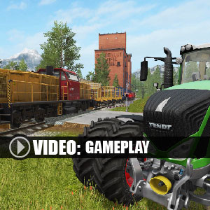 Farming Simulator 17 Platinum Expansion Gameplay Video