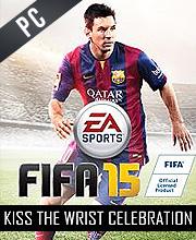 Fifa 15 Kiss the Wrist Celebration