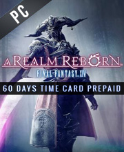 Final Fantasy 14 A Realm Reborn 60 days Gamecard