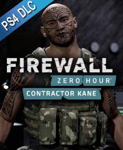 Firewall Zero Hour Contractor Kane