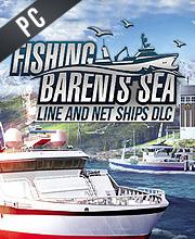 Fishing Barents Sea Line and Net Ships