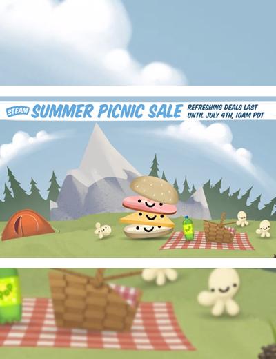 Steam Summer Picnic Sale: Games Under 10 Euros