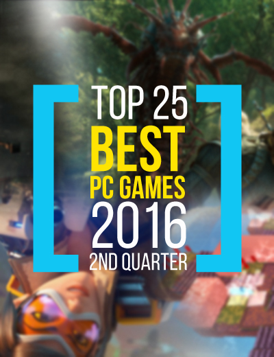 Top 25 PC Games of 2016 According to Metacritic Reviews