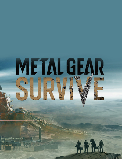 Metal Gear Survive is Konami's New Metal Gear Game