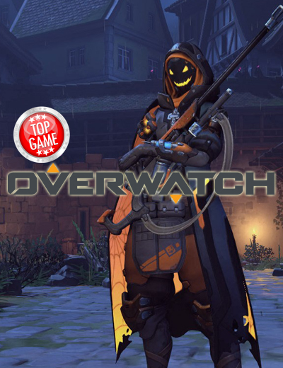Watch: Overwatch's Ana Showers Enemies with Halloween Treats