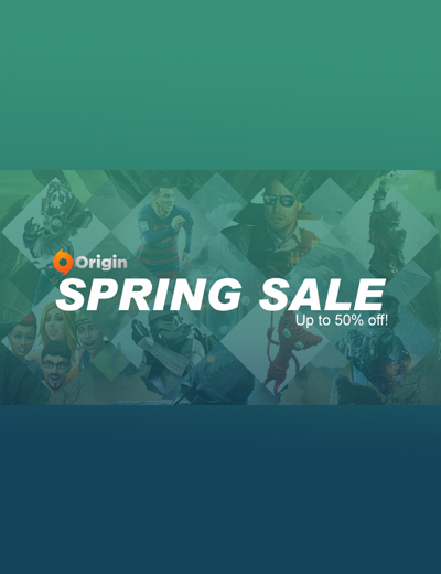 Origin Spring Sale 2016: Huge Discounts on the Best Origin Games!
