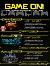 INFOGRAPHIC: 6 More Games Coming Out This Month!