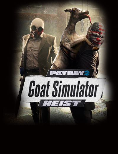 Payday 2 Meets Goats in Latest DLC