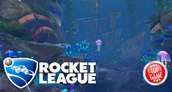 Rocket League AquaDome Cover