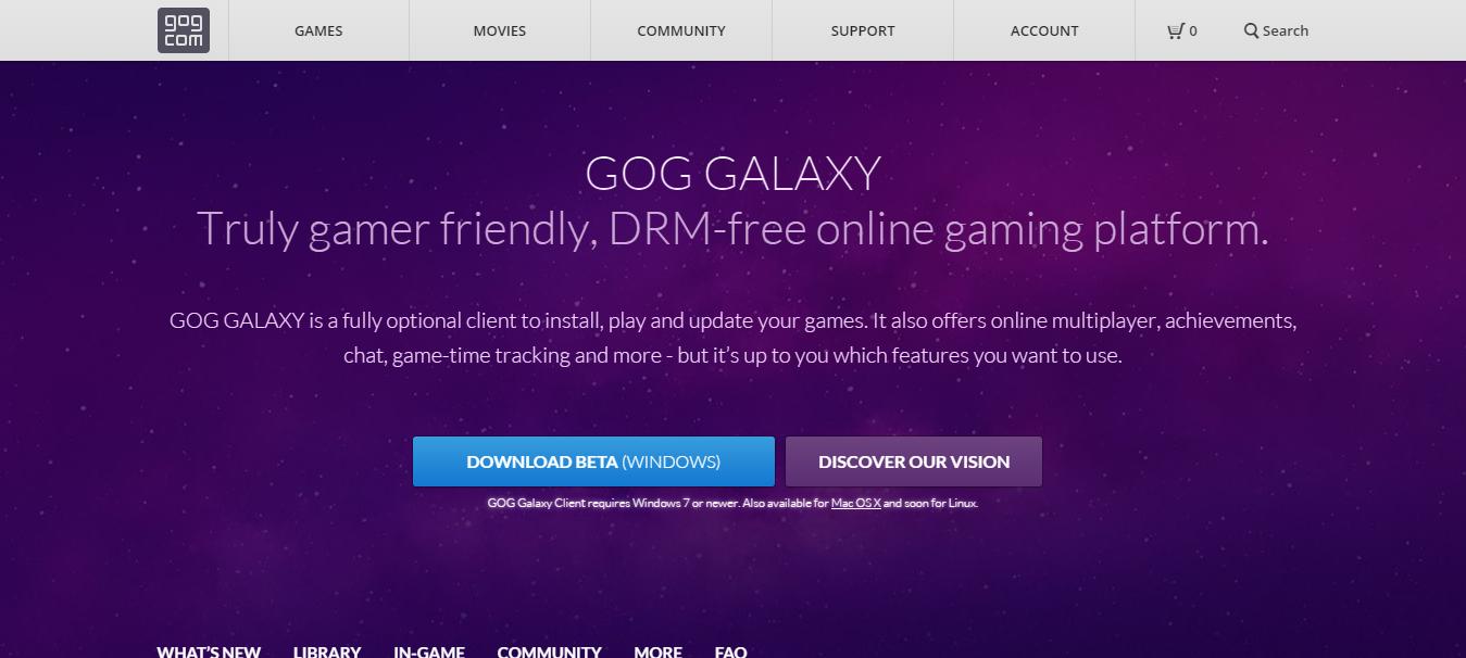 gog galaxy disk access problem