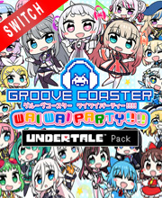 GROOVE COASTER WAI WAI PARTY UNDERTALE Pack