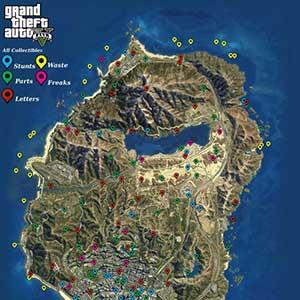 GTA 5 Map Collectibles