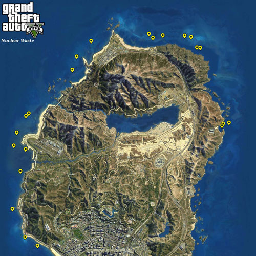 GTA 5 Map Nuclear Waste