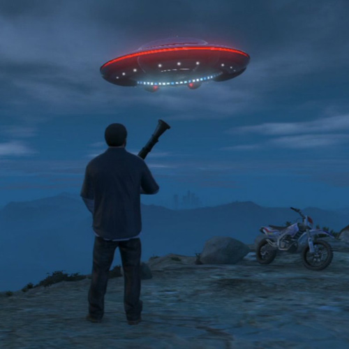 GTA 5 UFO Space Ship