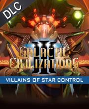 Galactic Civilizations 3 Villains of Star Control